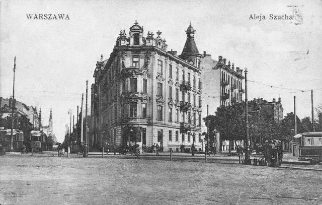 Plac Unii Lubelskiej, ok. 1909