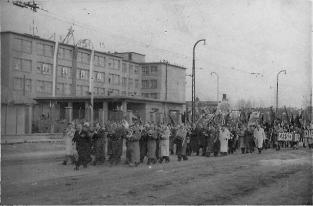 Czerniakowska, 1952