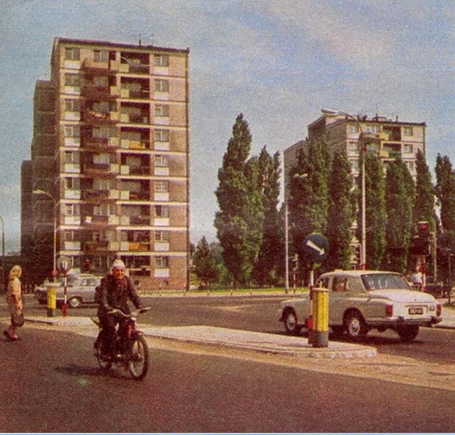 Dolna róg Sobieskiego 1971