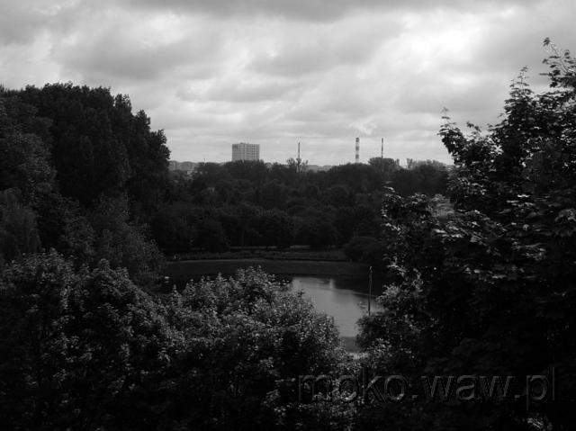 Widok z Królikarni na Idzikowskiego, 2015