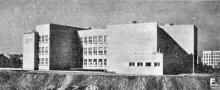 Szkoła przy Różanej 1935