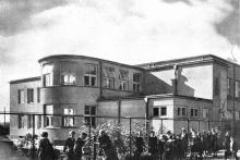 Szkoła przy ul. Gościniec ok. 1936