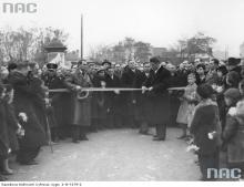 Puławska w okolicy Parku Dreszera, 1936