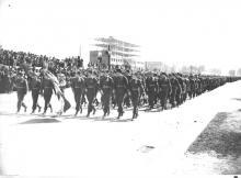 Al. Niepodległości, defilada 1938