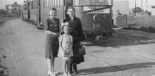 Pętla tramwajowa Służew 1944
