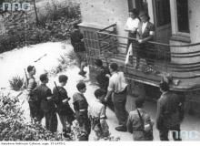 Odyńca 7, balkon, 1944