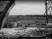 Widok z Królikarni na Idzikowskiego, 1957