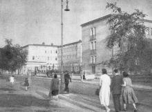 Szpital przy Madalińskiego - 1957