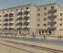 Puławska róg Idzikowskiego, 1961