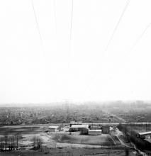 Park Arkadia ze skarpy, 1962