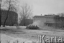 Puławska 17, zima, 1981