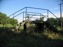 Mostek techniczny na Forcie Augustówka, 2005
