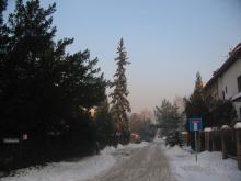 ulica Truskawiecka, zima 2006
