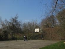 Dyżewskiego - plac do koszykówki