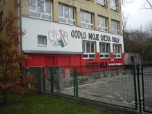 ul. Zwierzyniecka, mural szkolny